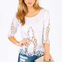 Carly Crochet Top $25