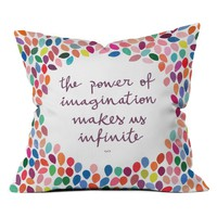 DENY Designs Garima Dhawan Imagination Outdoor Throw Pillow | www.hayneedle.com