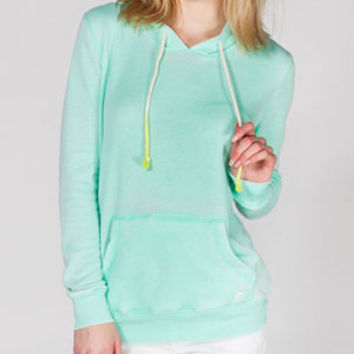 Billabong Open Roadz Womens Hoodie Mint  In Sizes