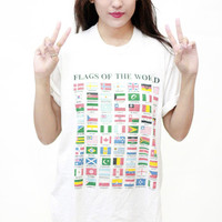 Flags of The World Tee | Tarte Vintage
