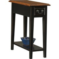 Favorite Finds Medium Slate Finish Side Table - #K3057 | LampsPlus.com