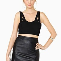 Nasty Gal Accelerator Crop Top