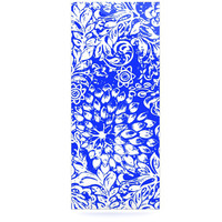 KESS InHouse Bloom Blue for You Floating Art Panel