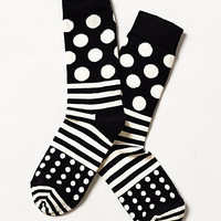 Dotted Line Socks