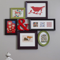 Place to Collage Your Own Picture Frame in Multi | Mod Retro Vintage Decor Accessories | ModCloth.com