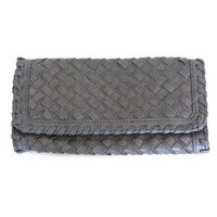 weave me around clutch in smoky gray - $38.99 : ShopRuche.com, Vintage Inspired Clothing, Affordable Clothes, Eco friendly Fashion
