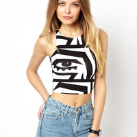 KESH X American Apparel Crop Top