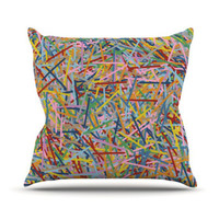 "Kess InHouse More Sprinkles Throw Pillow - Size: 16"" H x 16"" W"