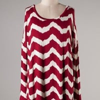 Chevron Must Have Tunic Top