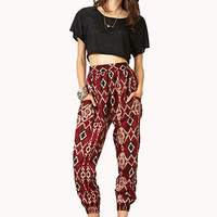 Breezy Tribal-Inspired Harem Pants