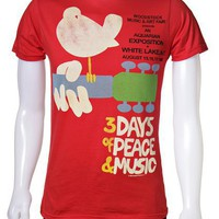 Woodstock - 3 Days of Peace  Music - Men's T-Shirt