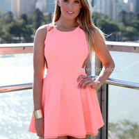 PRE ORDER - IN THE MOMENT DRESS (Expected Delivery 29th November, 2013) , DRESSES, TOPS, BOTTOMS, JACKETS & JUMPERS, ACCESSORIES, SALE, PRE ORDER, NEW ARRIVALS, PLAYSUIT, COLOUR,,Pink,CUT OUT,BACKLESS Australia, Queensland, Brisbane