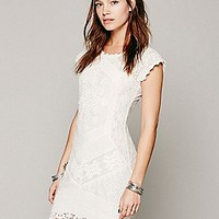 Beverly Crochet Dress