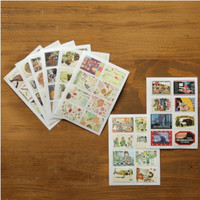 Antique Stamp Sticker Set v2