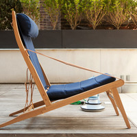 Atelier de Troupe - bivouac lounge chair