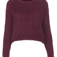 Topshop 'Monster Rib' Textured Crewneck Sweater | Nordstrom