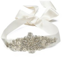 Crystal Ribbon Belt