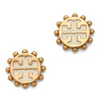 Winslow Logo Post Earrings