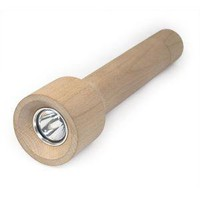 The Green Head - Torch - Wooden Flashlight