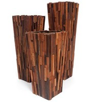 Rotsen Furniture - Salvaged Wood Planter Set