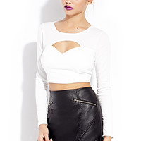 Biker Babe Faux Leather Skirt