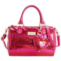 Betsey Johnson Handbag, Holiday Satchel