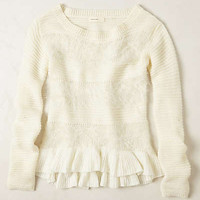 Ruffled Nuvola Sweater