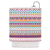 KESS InHouse Ayasha Polyester Shower Curtain