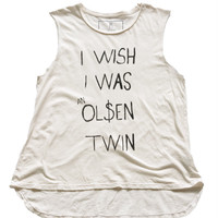Olsen Twin Muscle Tee - Skinny Bitch Apparel