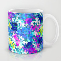 Bubbly Blue Mug by Emine Ortega