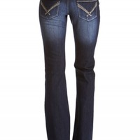 Dakota Flare Whipstitch Jeans