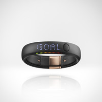 Nike+ FuelBand SE Rose Gold - Black