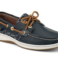 Women's Critter Print Bluefish 2-Eye Boat Shoe