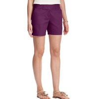 Cotton Shorts with 6 Inch Inseam