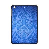 Blue Oriental Peacocks Pattern iPad Mini Case