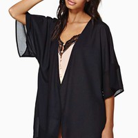 Nasty Gal Midnight Dream Kimono
