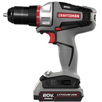 Craftsman Bolt-On ™ 20 Volt MAX* Lithium Ion Drill/Driver Kit