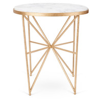 Monica Marble End TableVANDERBLOOM