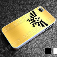 Zelda Triforce Golden for iphone 4/4s case, iphone 5/5s/5c case, samsung s3/s4 case cover in sibiru