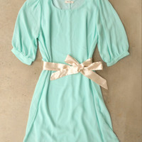 A Shift in Mint Dress [4152] - $28.00 : Vintage Inspired Clothing & Affordable Dresses, deloom | Modern. Vintage. Crafted.