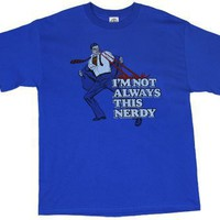I&#x27;m Not Always This Nerdy - Superman - DC Comics T-shirt