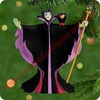 2000 Unforgettable Villains #3, Sleeping Beauty's Maleficent Hallmark Ornament at Hooked on Hallmark Ornaments