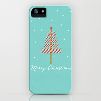 Merry Christmas iPhone & iPod Case by her art