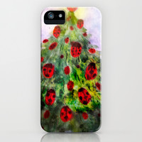 where ladybugs sleep in winter iPhone & iPod Case by rysunki-malunki