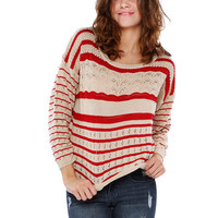 STRIPE SWEATSHIRTS