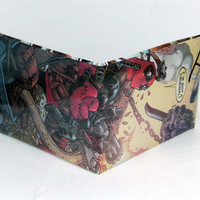 Comic Book Wallet// Deadpool