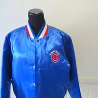 Vintage Swingster Chicago Cubs Jacket 1980s