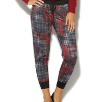 Plaid Jogger Pant | Wet Seal