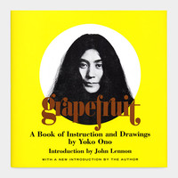 Grapefruit: A Book of Instruction and Drawings by Yoko Ono