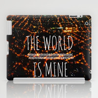 The World is Mine iPad Case by Louise Machado